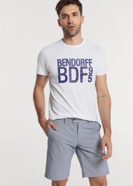 """Bermudas chino tejido """"motivos"""""""