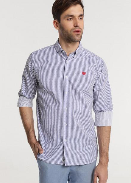 Camisa manga larga mini topos