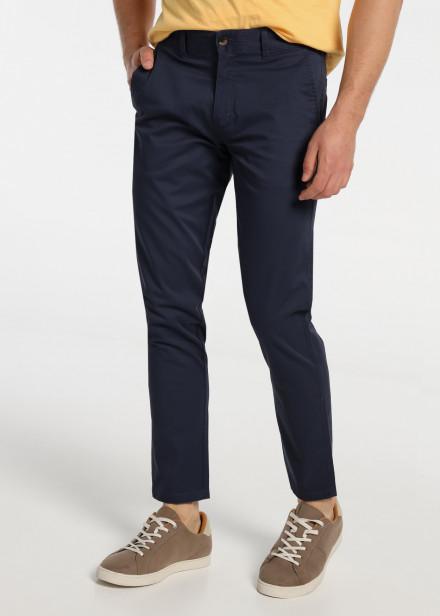Pantalon Chino Skynny Saten