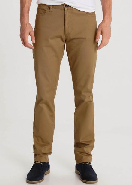 Pantalon à 5 Poches Twill Couleurs
