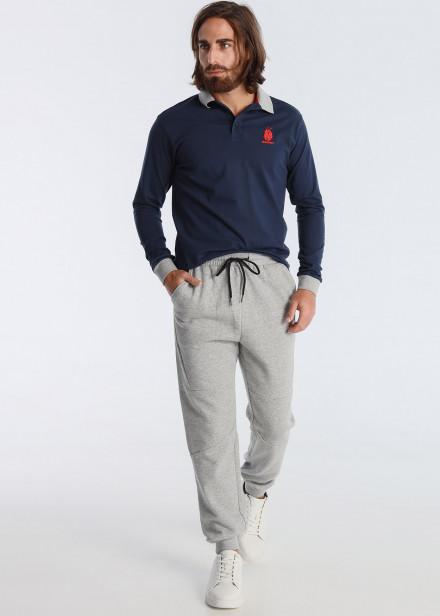 Pantalon en caoutchouc feutré