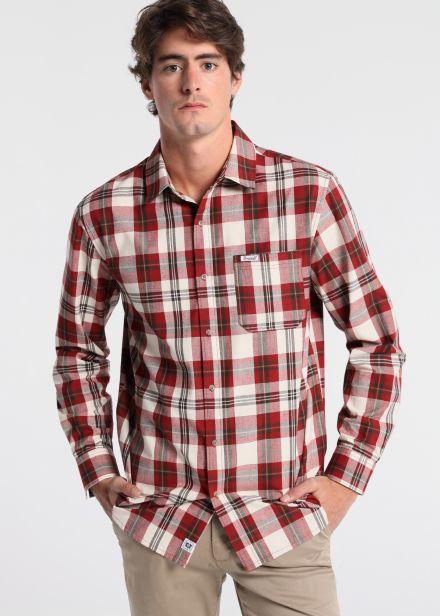 Camisa Cuadro Tejido