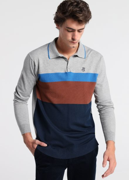 Polo Tricot Franjas