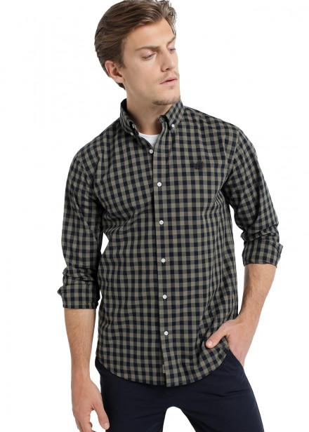 Camisa Cuadros Comfort